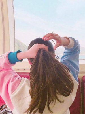 韓國街頭直擊!炎夏要跟的韓妹髮型