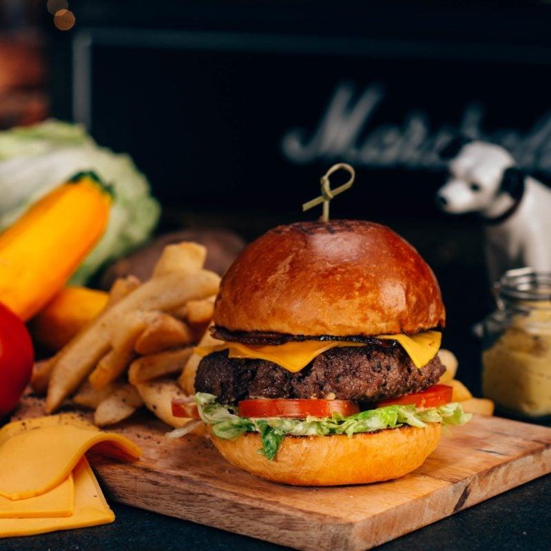 hmv Wagyu Beef Burger