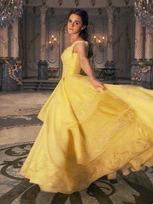 【美女與野獸狂熱】Emma Watson童話婚紗禮服