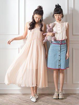【#bff留影】廖子妤與余香凝的時尚閨密照