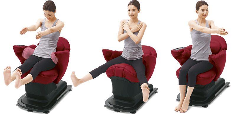 坐喺度練肌肉!日本新款鍛鍊椅修下半身及盆骨