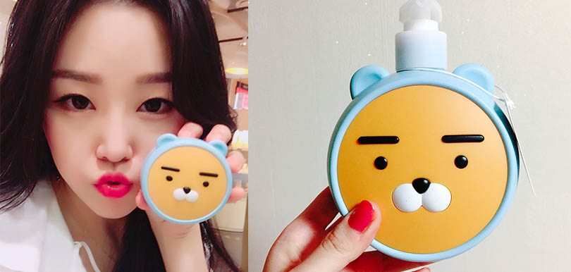Ryan粉絲召喚!3款日韓品牌卡通化妝品,唔買齊點算係fans!
