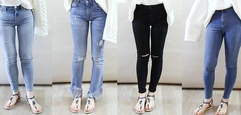 【編輯實測】轉季牛仔褲入手攻略  哪條是真顯瘦?