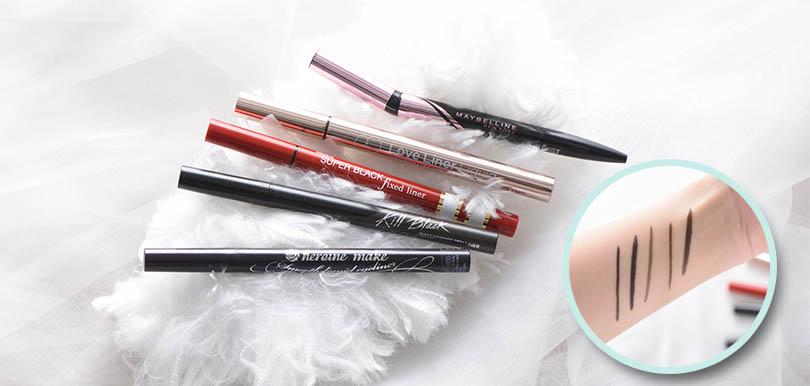 【編輯戀物PICK!】實測5款開架品牌眼線筆,即睇邊款最防水、最易畫!