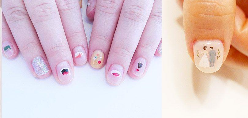 指尖上的小清新!春夏必弄大熱「手繪甲」款式,令你一秒變得有氣質!