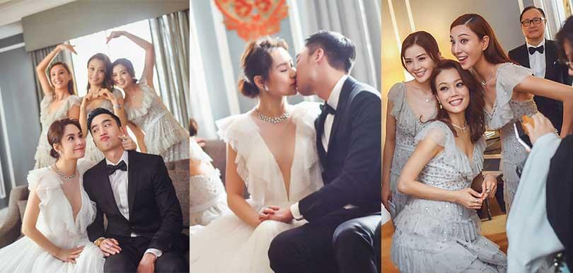 【鍾欣潼婚禮】婚紗及姊妹裙出自這些牌子