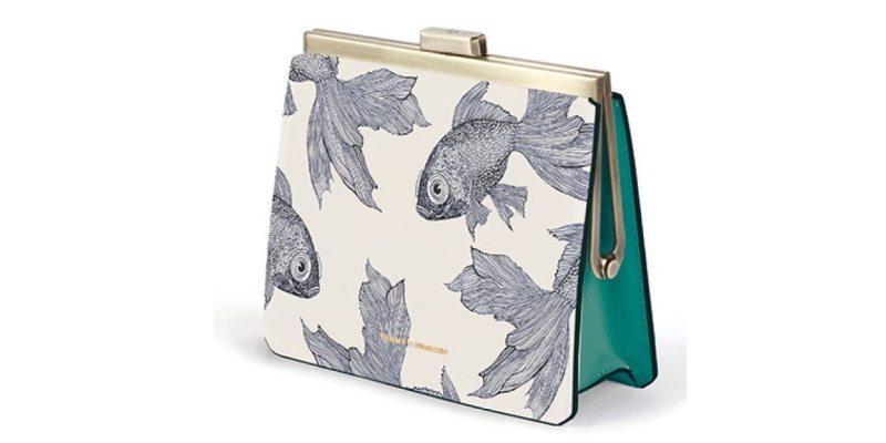 TAMMY & BENJAMIN Leather Frame Bag HK$2,790