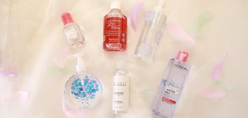【編輯戀物PICK!】紅水真係最work?實測6款最潔淨、最保濕的卸妝水!