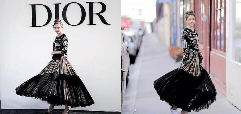 十分貼地!何超蓮現身巴黎 竟然穿的這雙鞋!