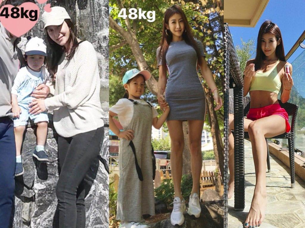 兩個簡單動作,跟42歲韓國辣媽練腹肌2