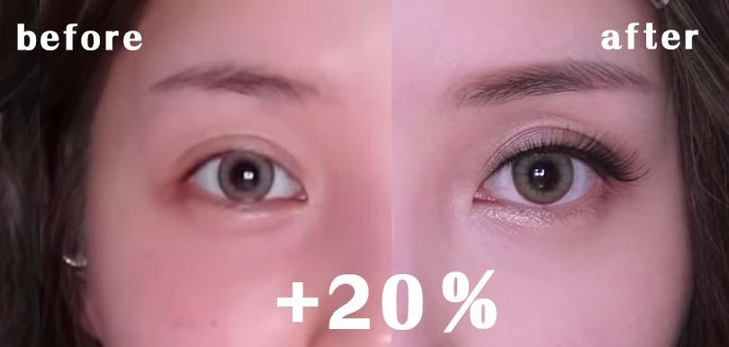 唔使用修圖app!即學PONY隱藏3大技巧,令雙眼有神兼放大20%!