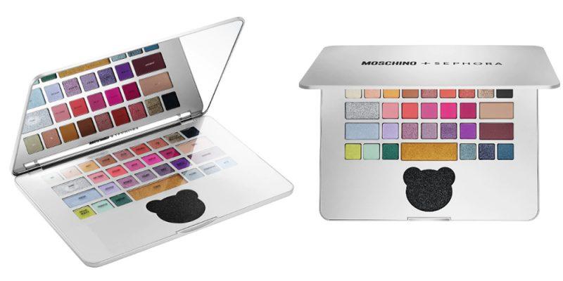 Moschino X Sephora 再度聯乘!手提電腦彩妝盤以假亂真!