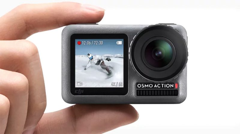 Vlog新工具!DJI OSMO Action 可以代替Go Pro嗎?