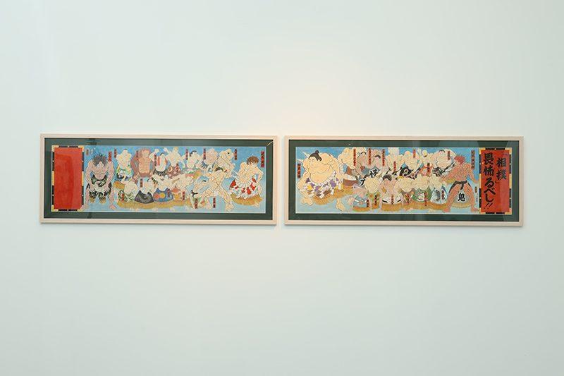 K11 Art Matsuri芸術祭浮世絵調原画展