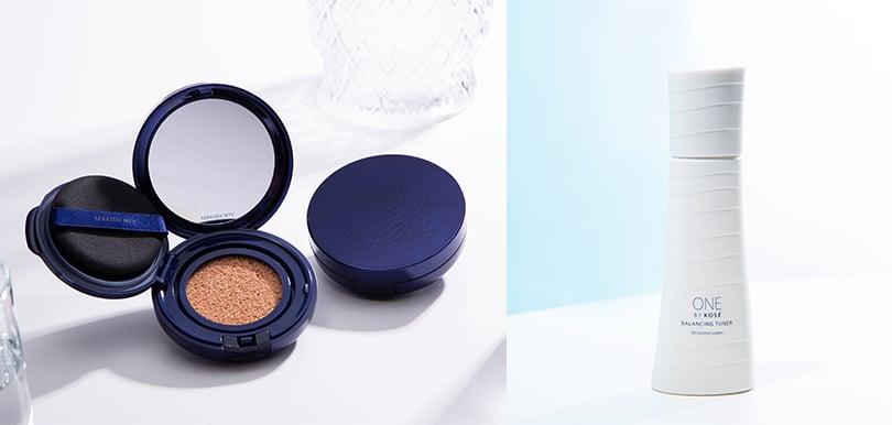 【夏天防溶「妝」備推介】全新KOSÉ化妝水x氣墊粉底 從根源打造零油水感妝