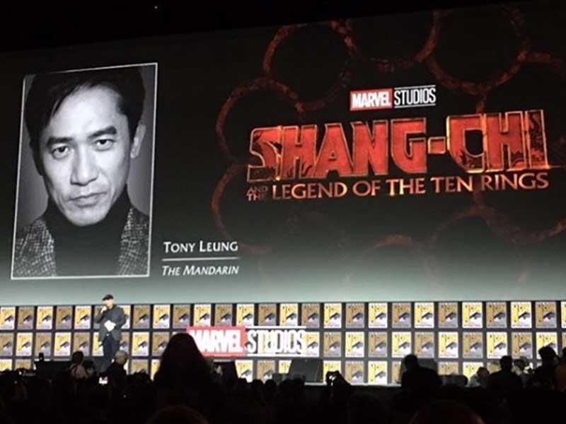 梁朝偉將參與Marvel首部華人電影《上氣》! 飾演反派「滿大人」!