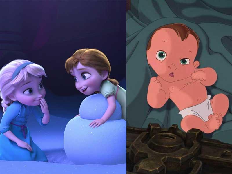 泰山就是Elsa和Anna的弟弟的傳言