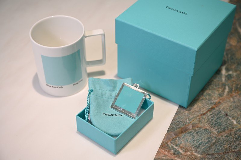 Tiffany Cafe登陸香港 獨家紀念品