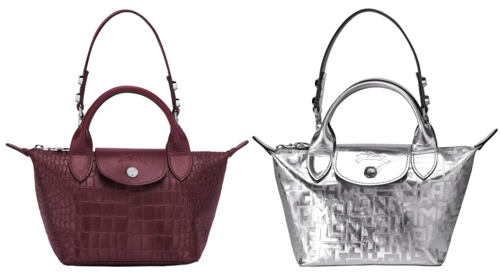Longchamp Le Mini Pliage Cuir