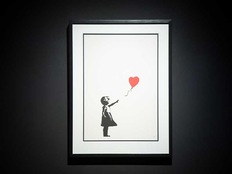 「Banksy: Genius or Vandal」世界巡迴展覽首登香港! 展出街頭藝術家Banksy70多件作品