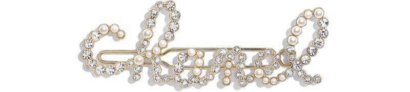 chanel珍珠髮夾