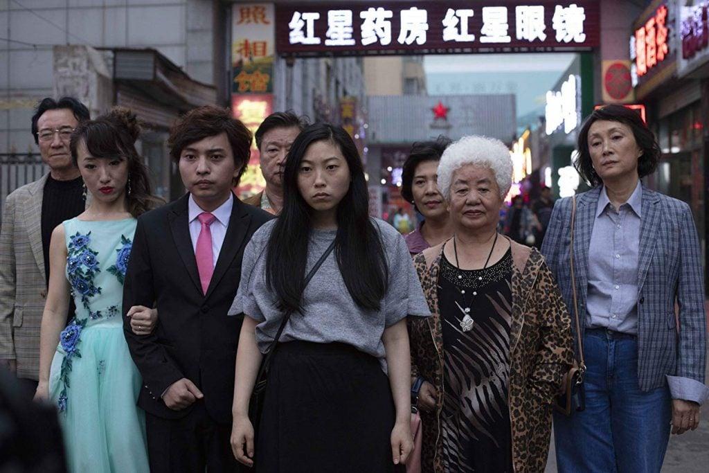 尚氣Awkwafina憑《The Farewell》成為史上首位亞裔金球獎影后。