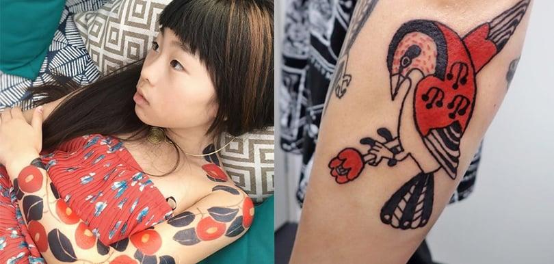 日本女生11歲就當紋身師?「日式禪繞畫法」連外國人...