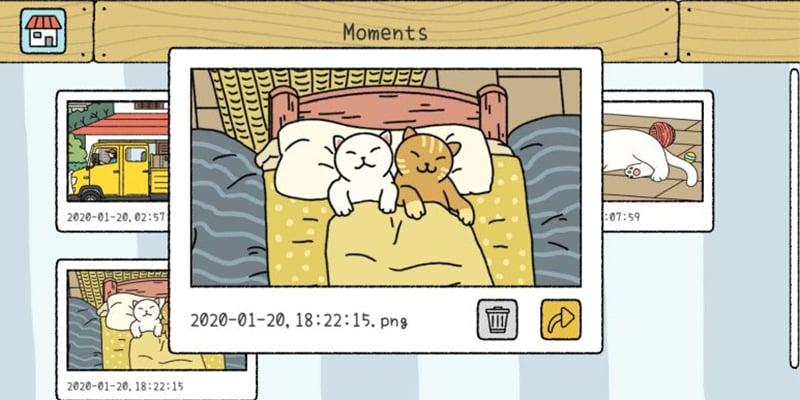 貓奴必玩治癒手繪風App「萌宅物語」佈置房子、拍拖兼養貓