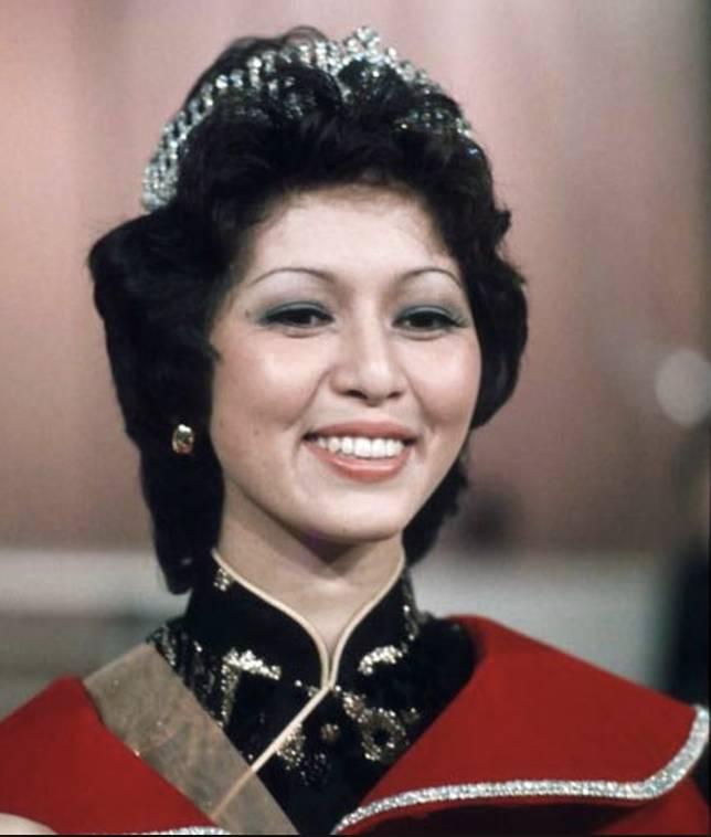 張瑪莉於1975年奪香港小姐冠軍