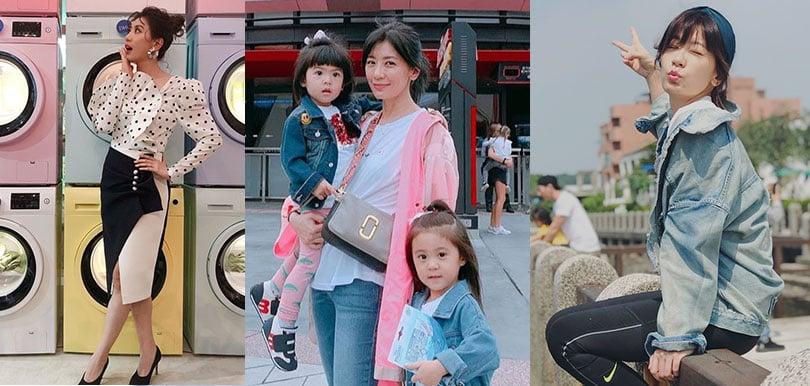 3孩之母賈靜雯無私分享:「生一個上一課」產後想瘦身就要這樣做