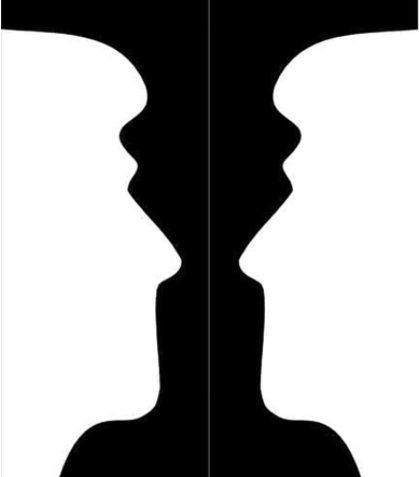 蠟燭台 VS 人臉