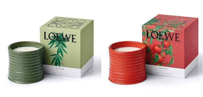 LOEWE首次推出蠟燭,竟然是大麻味?