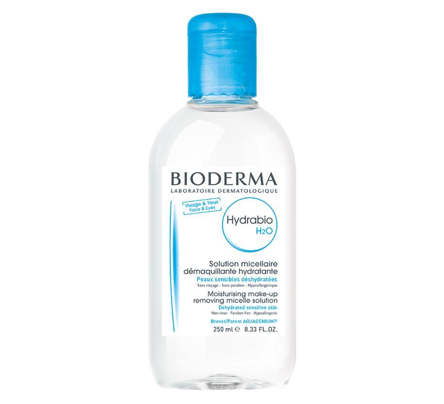 hydrabio h2o保濕卸妝潔膚水 $188/250ml, $228/500ml