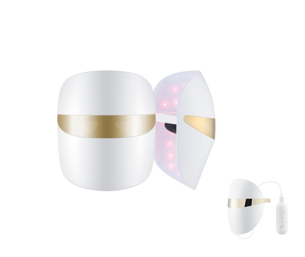 LG 光學淨白緊緻 LED 面罩