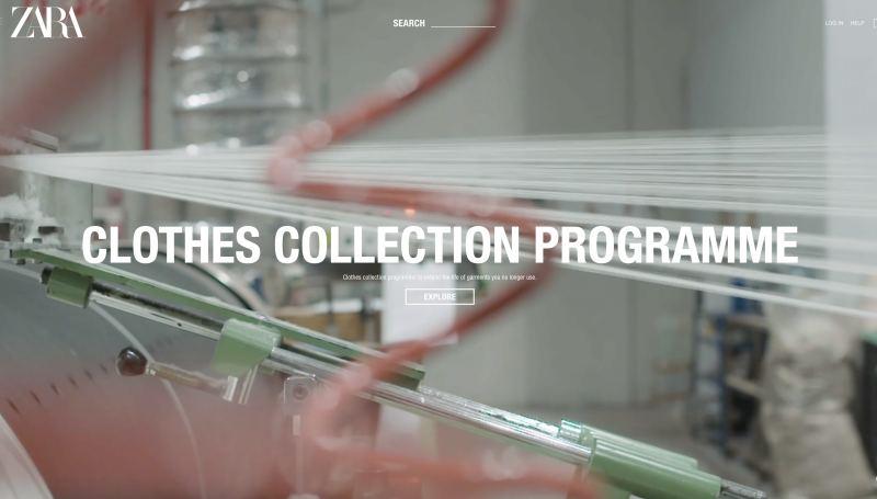 Zara開始發展永續布料的研究、UNIQLO尋求以回收材質製作衣服,同時鼓勵顧客舊衣回收。