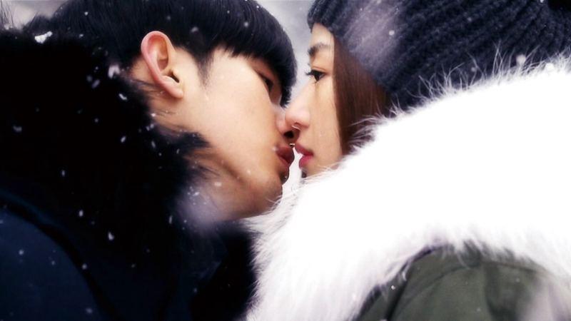 《來自星星的你》 金秀賢 全智賢 雪地之吻