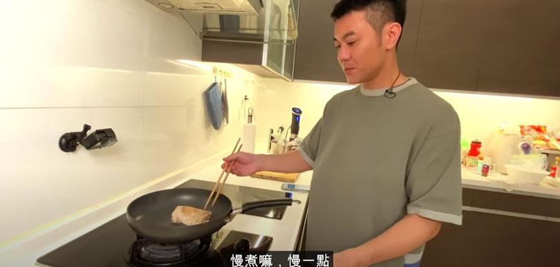 梁漢文「食肉減肥法」10日增肌減脂冇難度