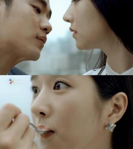 徐睿知和金秀賢曾合作拍攝布丁廣告