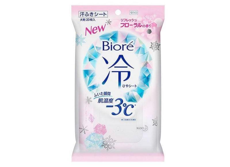 Biore降3度冰感香體紙 (清新花香)