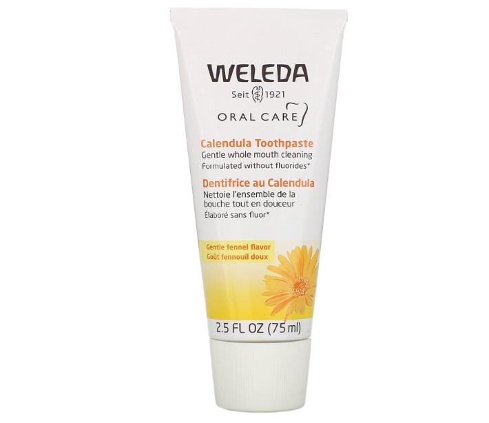 WELEDA Calendula Toothpaste 有機金盞花牙膏