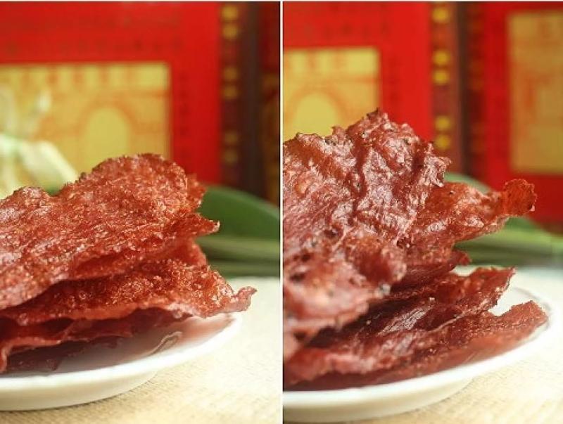 江記華隆豬肉紙