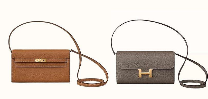 Hermès終推出兩款 Wallet on Chain 迷你版Kelly與Constance Long
