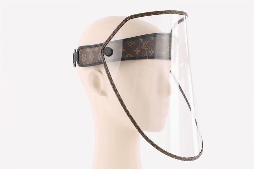 LV推出$7,500防疫面罩