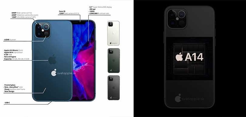 【iPhone12傳聞消息懶人包】新色粉藍綠/支援5G/鏡頭升級/尺寸縮細/再見M字額