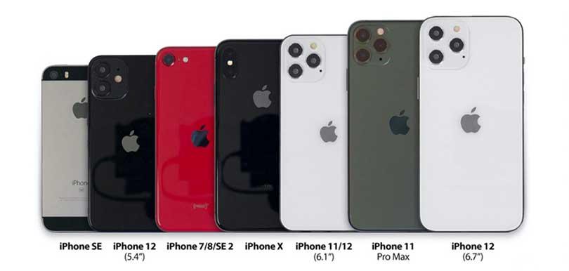 【iPhone12傳聞消息懶人包】新色粉藍綠/支援5G/鏡頭升級/尺寸縮細/告別M字額