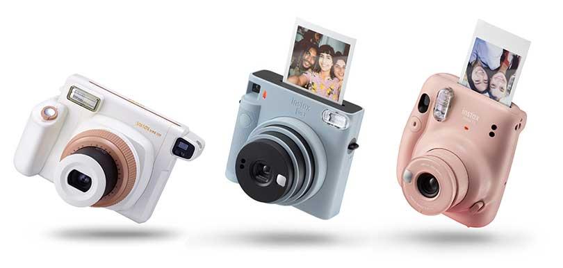 Fujifilm全新極簡即影即有instax Square SQ1開賣!這4款便攜貌美相機為你留低當下