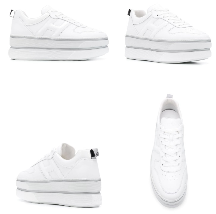 Hogan H449 platform low-top sneakers
