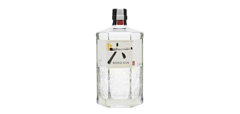 。Roku Gin 使用了6種經典的日本材料