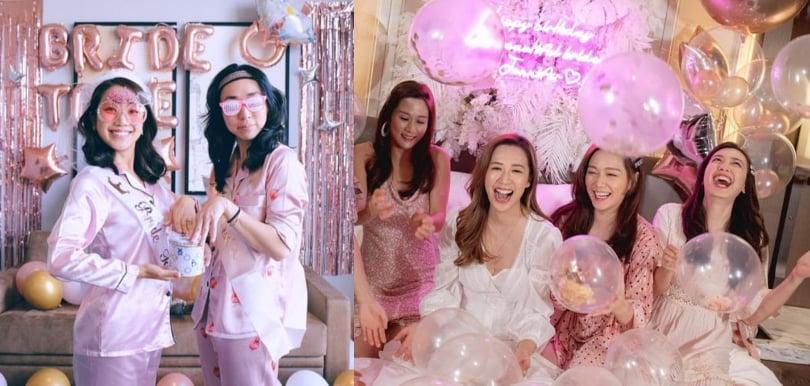 姊妹團Bridal Shower婚前派對必備睡衣
