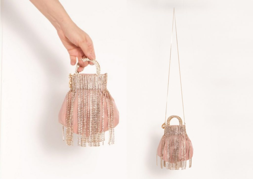 ROSANTICA Follie Fringes Mini bag HK$8,900